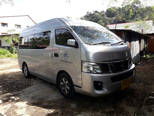 privat taxi nach koh chang mini bus transfer