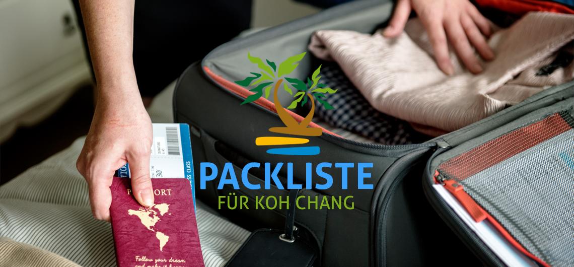 packliste koh chang urlaub thailand liste