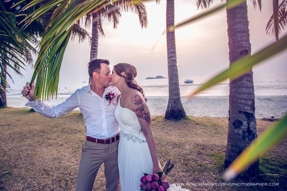 koh chang hochzeit heiraten strand meer
