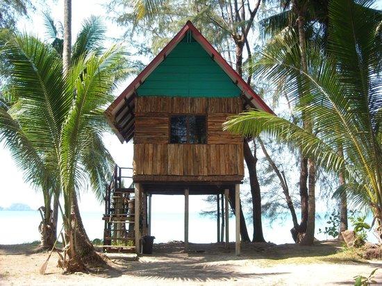kp-huts strandhütte besondere unterkünfte koh chang insel thailand