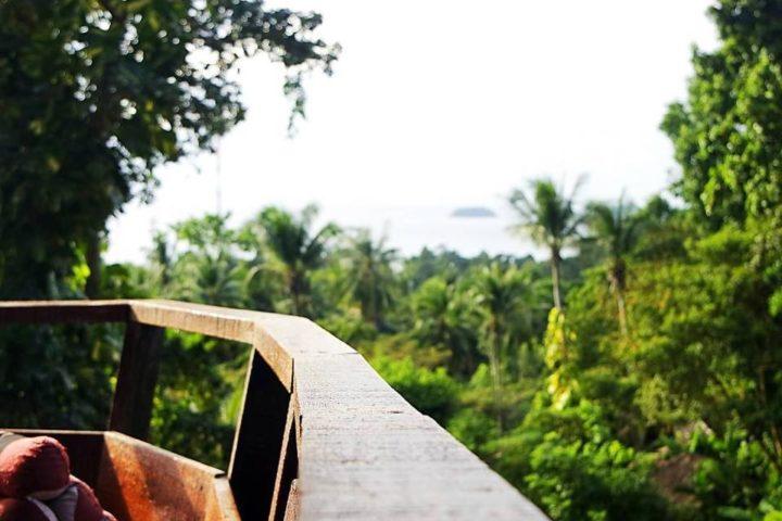 oasis baumhaus viewpoint aussichtspunkt thailand koh chang