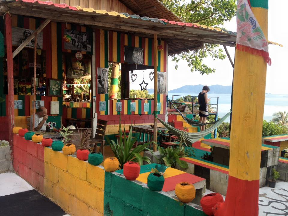 rasta view bar viewpoint koh chang thailand