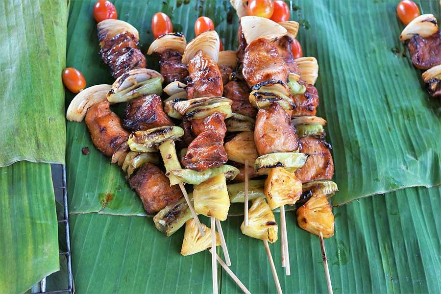 thai-bbq-koh-chang-insel-thailand-markt-garküche