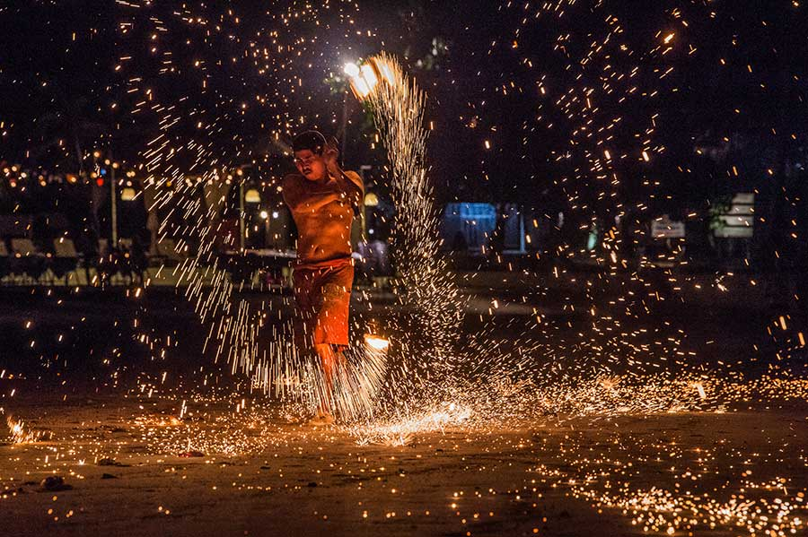 feuershow-koh-chang-insel-thailand